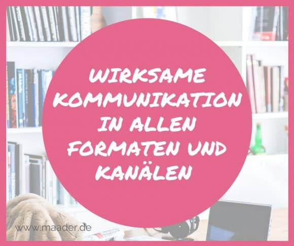 Titelbild, Blogartikel: Content-Marketing - wirksame Kommunikation